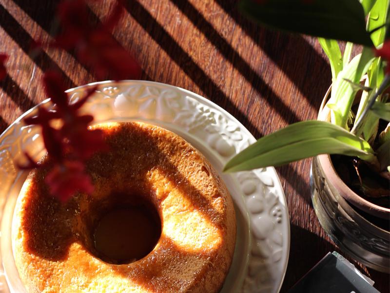 bolo perfumado de laranja
