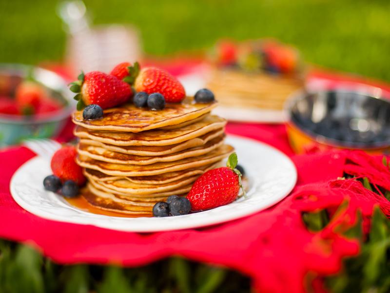 panquecas americanas – versão normal e versão sem glúten e lactose – o chef e a chata
