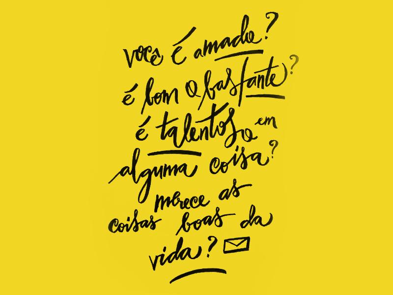 carta amarela #92 – inseguranças