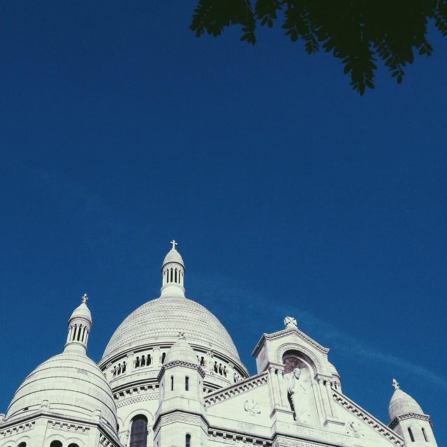 quase novembro e Paris ainda presenteando dias lindos e quentes. ?