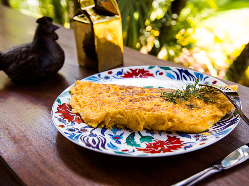 omelete — o chef e a chata