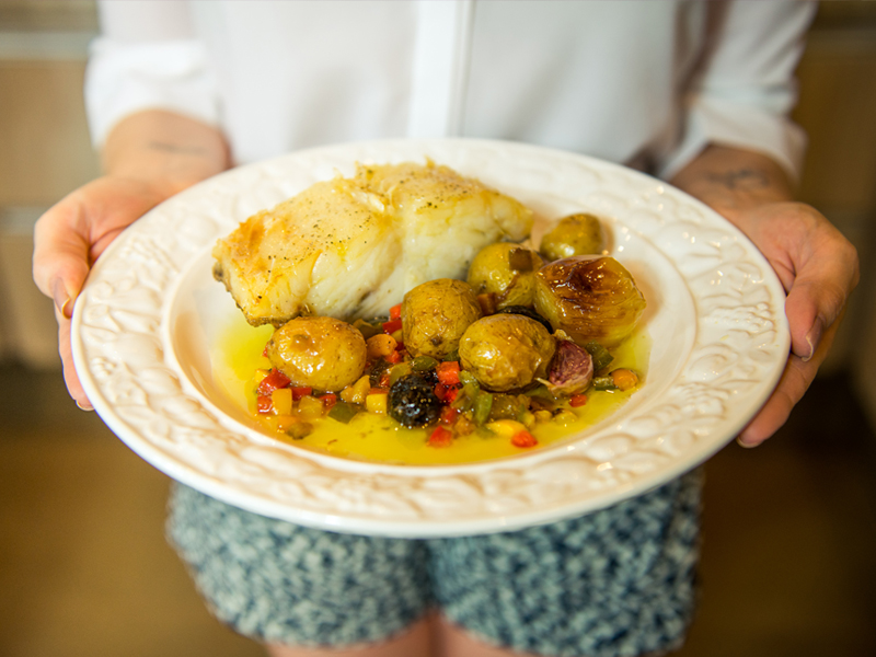 bacalhoada — o chef e a chata