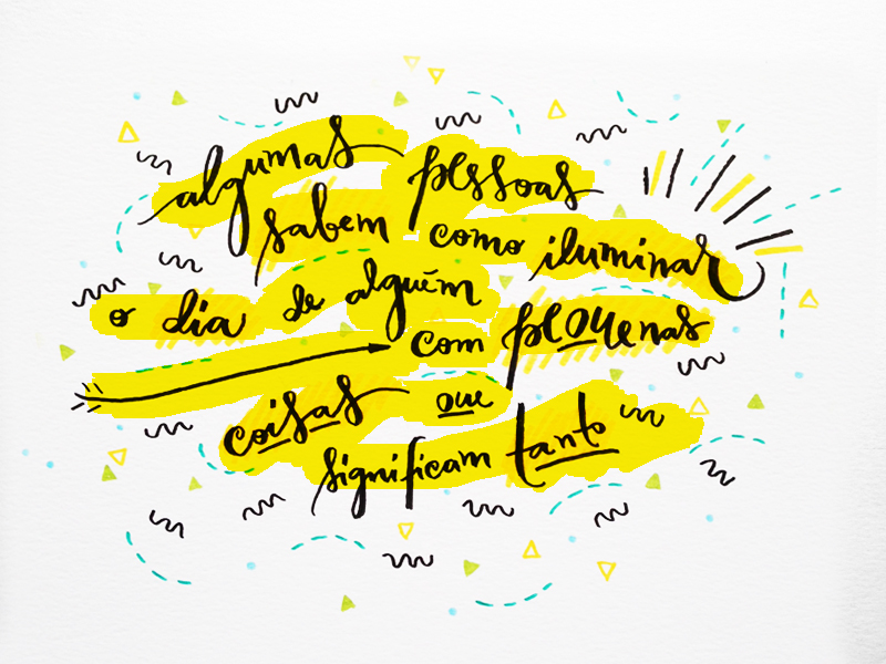 carta amarela #107 – presentes