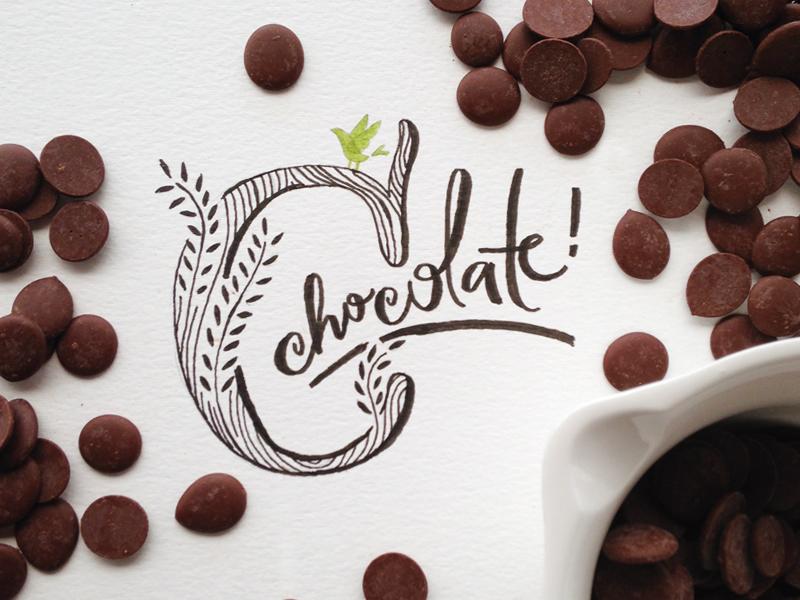 na prática: chocolate!