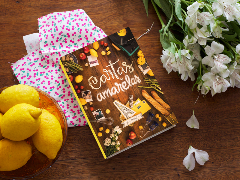 cartas amarelas, o livro