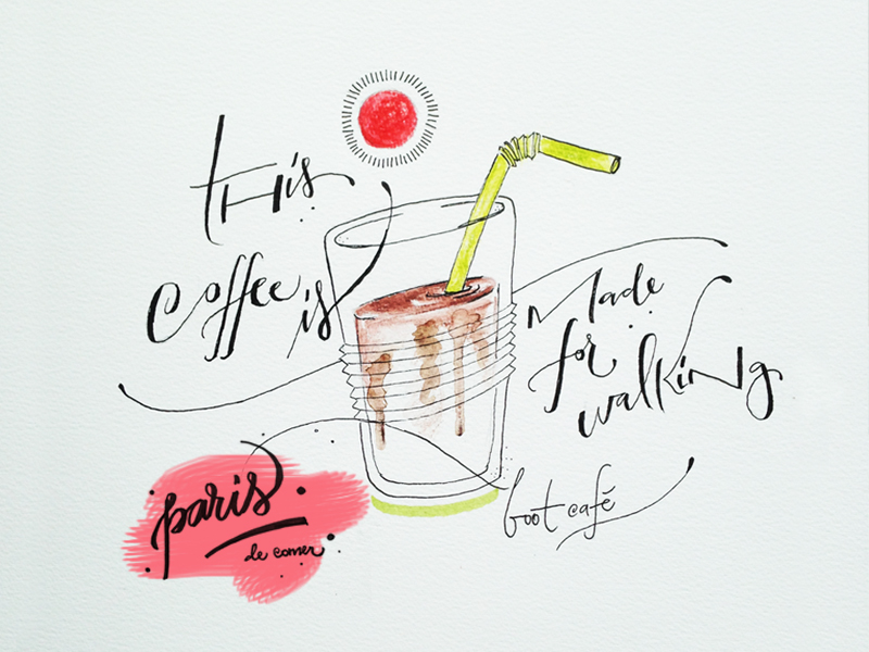 boot café: o mini, fofo e gostoso café do Marais