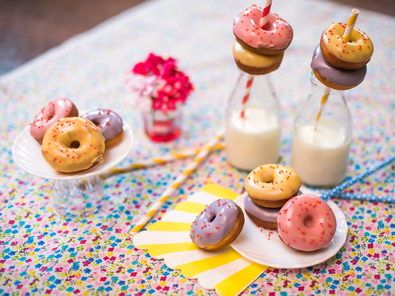 mini donuts — o chef e a chata