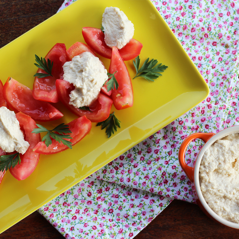 mousse de parmesão (para acompanhar saladas!)