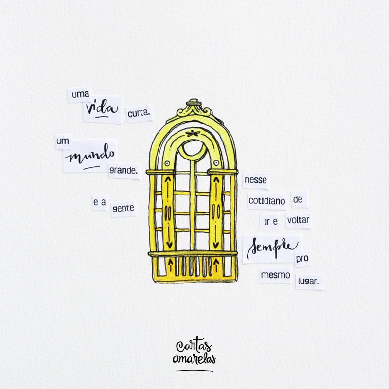 carta amarela #121 – janela aberta