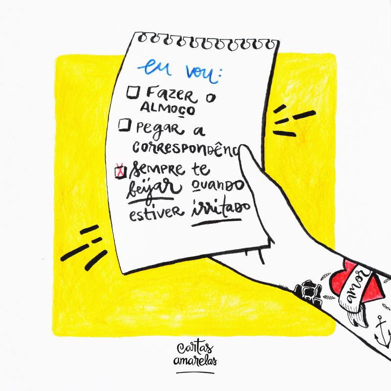 carta amarela #127 – se apaixonar