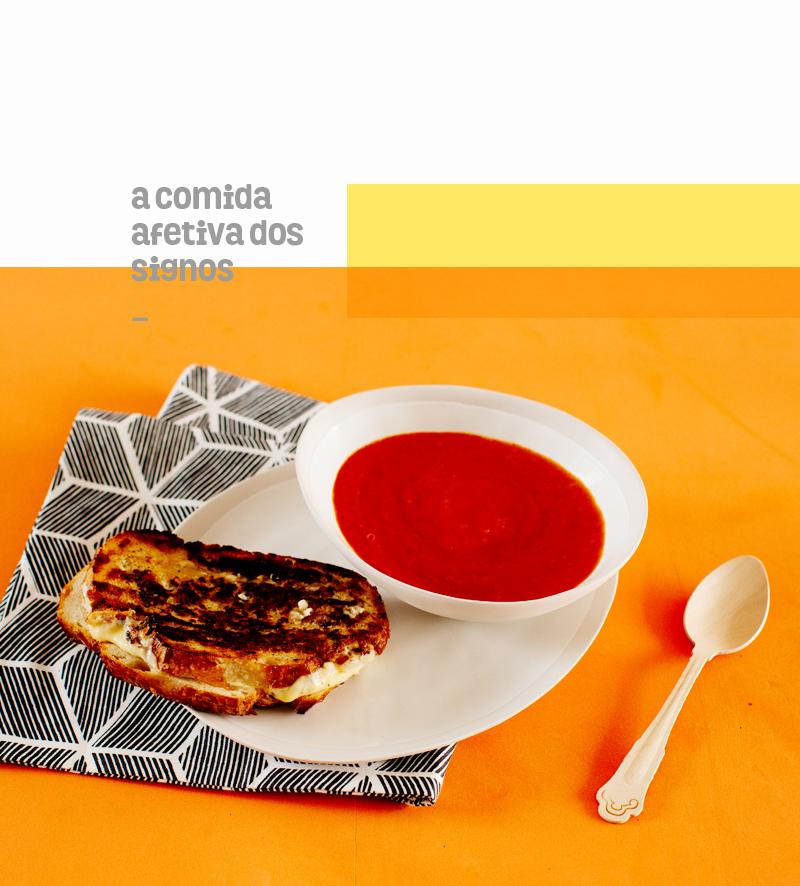 áries | queijo quente perfeito com sopa de fogo