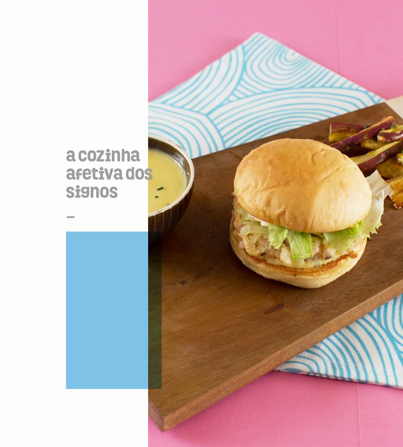 aquário | hambúrguer diferentão