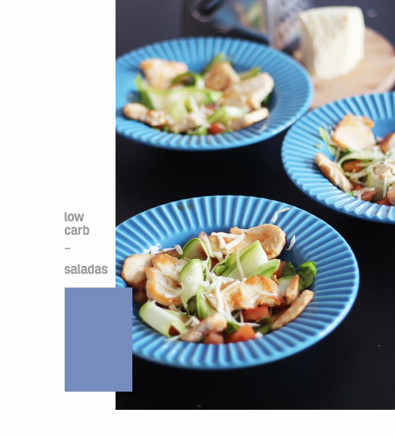 salada de abobrinha e frango